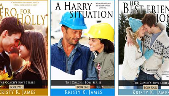 Kristy K. James - 5 Coachs Boys covers